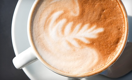 $20 for 10 Fair-Trade Coffees or Espresso Drinks at Coffee on the Go... (Up to $42.50 Value)