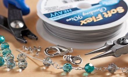 $15 for $30 Worth of Beading Supplies and Merchandise at Fusion Beads