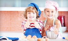 One- or Three-Day Kids' Cooking Camp at Pied Piper Parties & Playschool (Up to 56% Off)