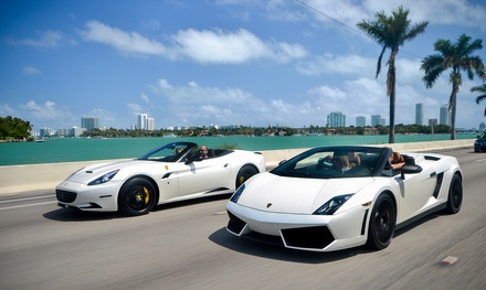 30- or 60-Minute Test Drive in Ferrari or Lamborghini from Drive Me Crazy (Up to 50% Off)