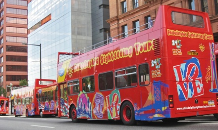 Historical Hop-On Hop-Off Tour for One, Two, or Four from Philadelphia Sightseeing Tours (Up to 40% Off)