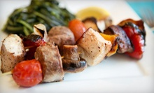 Mediterranean Meal for Two or Four at Venicia Cafe &amp; Grill (Up to 61% Off)