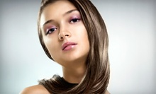 Haircut Package with Shine Treatment and Optional Colour or Highlights at Unique Look Hair Design (Up to 65% Off)