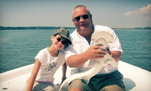 $125 for a Two-Hour Shark Fishing Trip for Two from Captains Source ($250 Value)