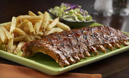 Steak-House Meal for Two or $15 for $30 Worth of Ribs, Steak, and Seafood at Tony Roma's