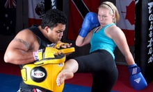One Month of Martial-Arts Classes from Muay Thai Niagara Combative Arts (Up to 53% Off). Five Options Available.
