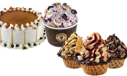 Frozen Treats at Marble Slab Creamery (Up to 36% Off). Two Locations and Three Options Available.