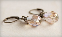 Pair of Teardrop Earrings or Jewelry from Vintage Jewels at The Bead Studio (Half Off). Three Options Available.