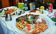Mexican Food and Drinks at Zocalo Restaurant & Bar (Half Off). Two Options Available.