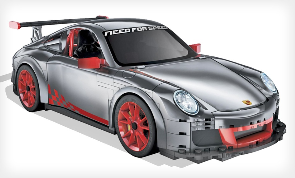 Groupon - Mega Bloks Need for Speed Porsche (1/14 Scale) - $14.99