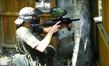 Paintball Package for Four or Eight with Equipment and 500 Paintballs Each at Boss Paintball (Up to 53% Off)