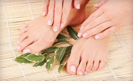 $24.99 for a Signature Manicure and Pedicure at Success Weight Loss & Medspa ($55 Value)