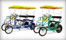 $15 for $30 Worth of Cycle Rentals from Wheel Fun Rentals