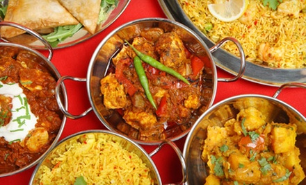 Indian Dinner Cuisine at Chutnys (Half Off). Two Options Available.
