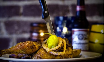Barbecue at Belmont House of Smoke (Up to 40% Off). Two Options Available.