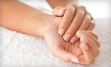 $45 for a Spa Mani-Pedi at Level Salon ($90 Value)