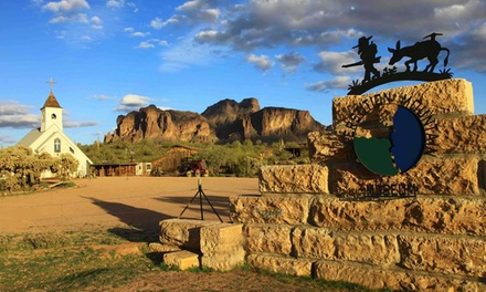 Adult Admission for Two, Four, or Six, or a One-Year Membership to Superstition Mountain Museum (Up to 46% Off)