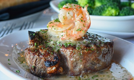 Steakhouse Dinner for Two or Four at Myron's Prime Steakhouse (50% Off)