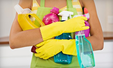 One or Three 90-Minute Cleaning Sessions with Two Maids from General Cleaning Services (Up to 58% Off)