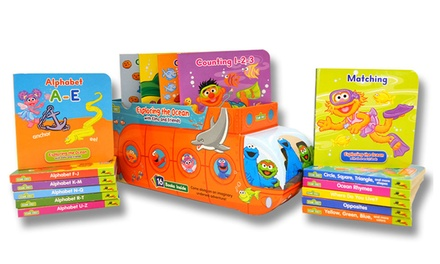 Sesame Street Submarine Exploring the Ocean 16-Book Set