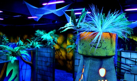 3 or 10 Games of Laser Tag at LazerRush (Up to 46% Off)