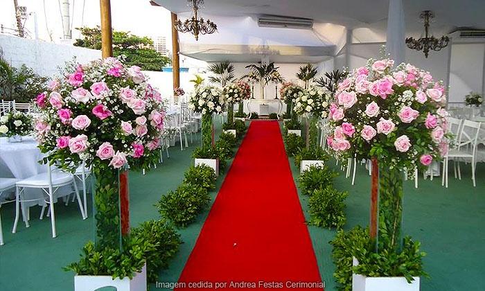 Andrea Festas Cerimonial - Salvador: Andrea Festas Cerimonial – Pituaçu: festa completa para 50, 100 ou 150 pessoas, a partir de 12x sem juros de R$ 207,50