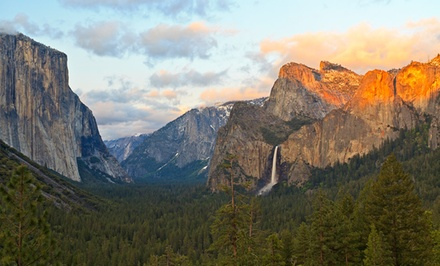 groupon daily deal - 2- or 3-Night Stay for Up to Six inside Yosemite's Enchanted Forest at Yosemite National Park
