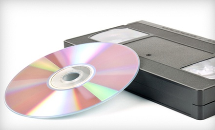 One or Three Analog Media to DVD Transfers at Copy Cat Video (Up to 53% Off)