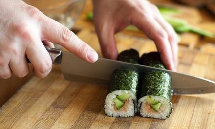 Orienta-te — Estoril: workshop e degustação de sushi para uma ou duas pessoas desde 34,90€