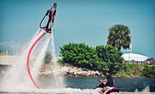 30-Minute Flyboard Flight for One or Two from Jump Right In Flyboarding (Up to 58% Off)