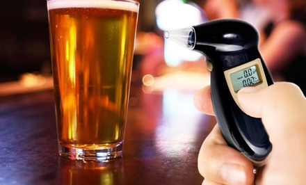 Personal Digital Alcohol Tester Breathalyzer