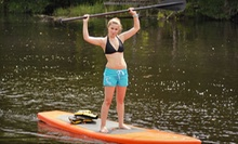 One-Hour Standup Paddleboard Lesson and Tour or All-Day Kayak Rental from All Wet Sports (Up to 55% Off)