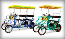 $15 for $30 Worth of Bike and Outdoor-Gear Rentals from Wheel Fun Rentals