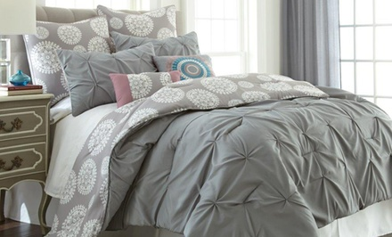 8-Piece Embellished Comforter Set. Multiple Options from $69.99–$79.99.