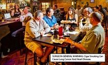 $10 for $20 Worth of Cigars or Upscale Bar Fare at Elite Cigar Cafe 