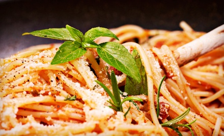 BYOB, Pizza and Pasta Fare (Up to 53% Off). Two Options Available.