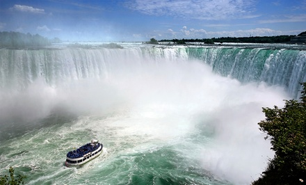groupon daily deal - Stay with Drinks, Wine Tastings, and Tours for Two at Wyndham Garden Niagara Falls Hotel in Ontario. Dates into June.