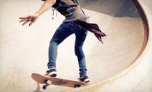 10 or 20 Skate-Park Visits at The Asylum Skatepark & Skateshop (Up to 56% Off)