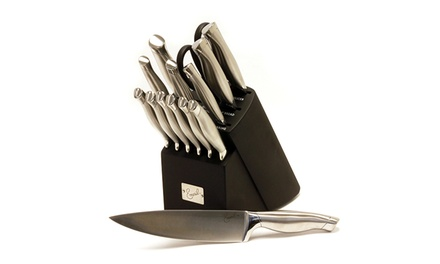 Emeril 15-Piece Stainless Steel Hollow-Handle Cutlery Set
