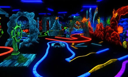 Bowling Package for Five with Optional Mini Golf at Junction Lanes Family Entertainment Center (Up to 55% Off)