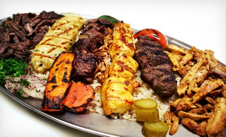 Lebanese Food for Dinner or Lunch at Lebanese Grill –Troy (Up to 52% Off)
