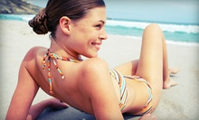 One, Three, or Five Custom Airbrush Spray Tans with Hydrating Treatments at The Tan Banana (Up to 55% Off)