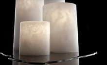 $15 for $30 Worth of Candles, Luminaries, and Holders at Stone Candles