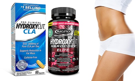 Hydroxycut Hardcore Elite and CLA Weight Loss Supplements