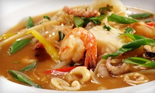 $12 for $24 Worth of Thai Food and Drinks at PaPaYa Thai Restaurant