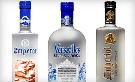 Two 750 mL Bottles or One 1-Liter Bottle of Emperor's Brand Vodka at Wagner's Liquor (Half Off)