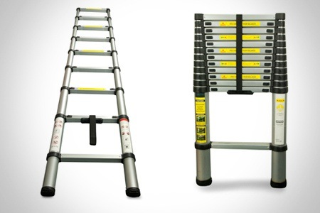 Telescopic Ladder Groupon Goods