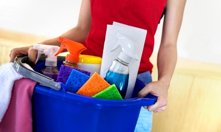 One or Three Two-Hour House-Cleaning Services from MK Cleaning Services (Up to 55% Off)