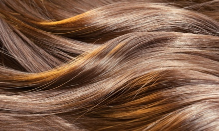 Haircut, Highlights, and Style from Infinite Salon (50% Off)