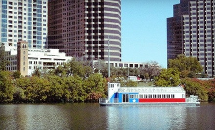 One-Hour Weekend Riverboat Sightseeing Tour for Two or Four from Lone Star Riverboat (Half Off)